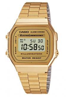 CASIO A168WG-9EF Watch gold/yellow/bronze