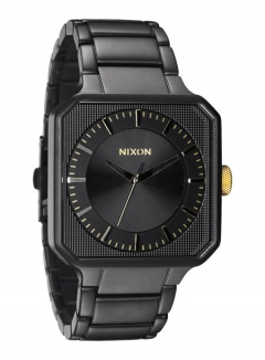 Uhr NIXON PLATFORM Watch matte black/gold