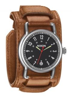 Uhr NIXON AXE Watch black/saddle