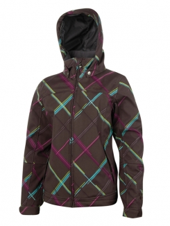 PROTEST ANNE JR Softshell Jacke 2013 brown earth