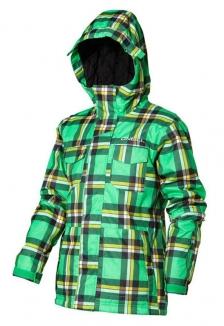 ONEILL BOYS ESCAPE GRID Jacke 2013 green aop