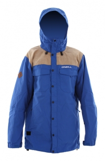 ONEILL FREEDOM BUTTON UP Jacke 2013 ocean blue