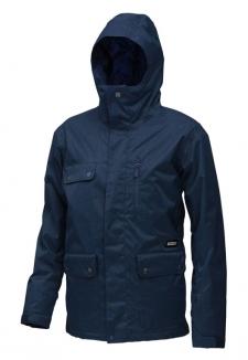 QUIKSILVER DRIFT INSULATED PLAIN Jacke 2013 deep blue indigo
