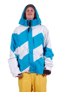 LIGHT DOGMA Jacke 2012 white/electric blue