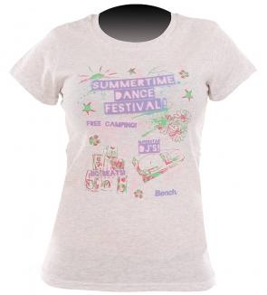 FESTIVAL T-Shirt 2012 white marl