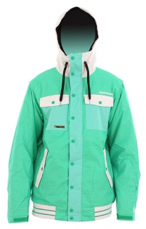 ONEILL FREEDOM SEB TOOTS Jacke 2012 green aop