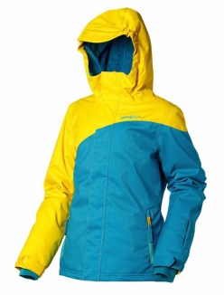 ONEILL GIRLS ESCAPE CORAL Jacke 2013 chrome yellow