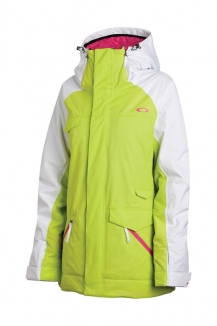 OAKLEY GRETE INSULATED Jacke 2013 lightning green