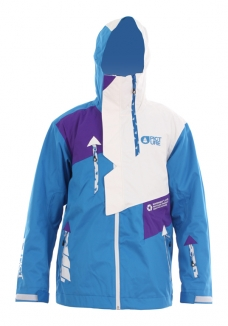 PICTURE INFUSE Jacke 2013 blue
