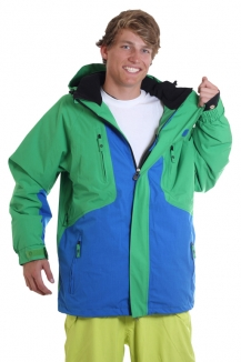 LIGHT JACKSON Jacket 2012 royal/kelly green
