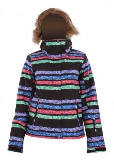 ROXY JET SKI Jacke 2013 multico stripe jaquard