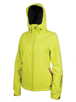 PROTEST NADA Softshell Jacke 2013 lime juice