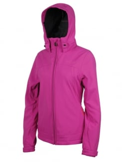 PROTEST NADA Softshell Jacke 2013 pink candy
