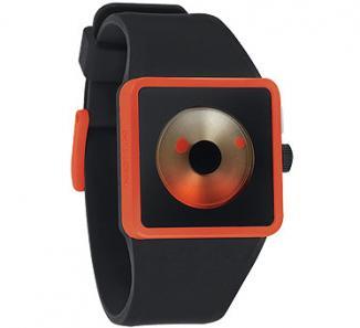 Uhr Nixon Newton Watch black/orange/sunrise