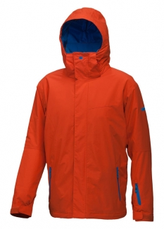 QUIKSILVER NEXT MISSION PLAIN INSULATED Jacke 2013 orange
