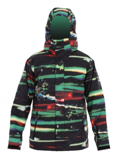 QUIKSILVER NEXT MISSION PRINTED YOUTH Jacke 2013 resin