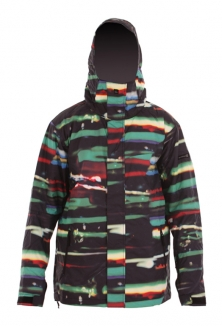 QUIKSILVER NEXT MISSION PRINTED INSULATED Jacke 2013 resin