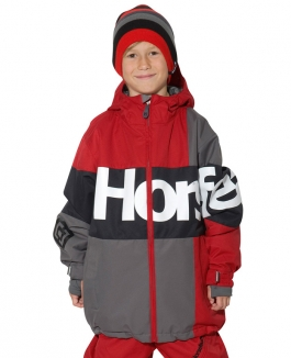 HORSEFEATHERS HARIS KIDS Jacke 2013 red
