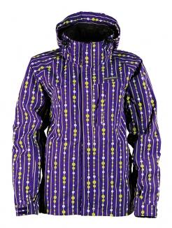 HORSEFEATHERS VEGA INSULATED Jacke 2011 violet spotty