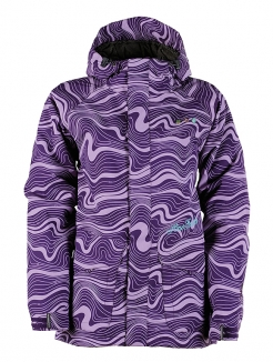 HORSEFEATHERS MIRAM INSULATED Jacke 2011 purple grid