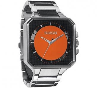 Uhr NIXON PLATFORM Watch  black/orange