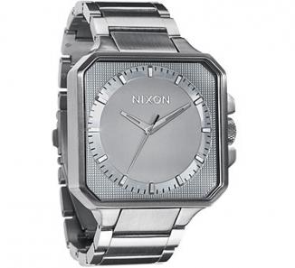 Uhr NIXON PLATFORM Watch silver