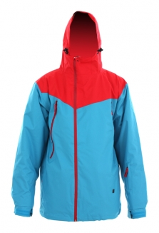 LIGHT PURE Jacke 2013 red/electric blue
