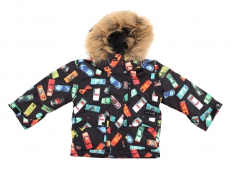 QUIKSILVER SHIFT KIDS PRINTED Jacke 2013 cars black