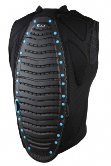 STUF BASIC Vest 2014 black/blue - S