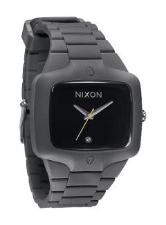 Uhr Nixon Rubber Player Watch grey/black