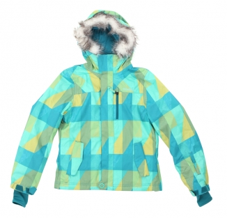 ONEILL GIRLS ESCAPE TIGEREYE Jacke 2013 blue aop 5
