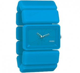 Uhr Nixon Vega Watch neon blue