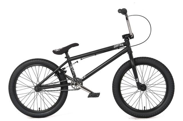 "JUSTICE 20.5"" BMX Bike 2012 matte black"