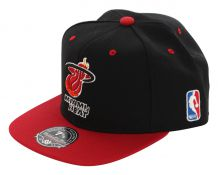 MIAMI HEAT ARCH LOGO Basic Fitted Cap 2014 black/red