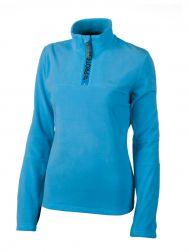 MUTE 1/4 Zip Fleece 2012 cobalt