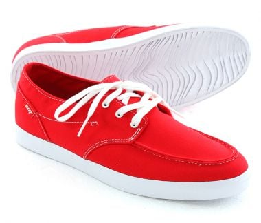REEF DECK HAND 2 Schuh 2013 red/white