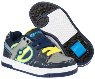 HEELYS FLOW Schuh 2015 navy/yellow/grey - 38