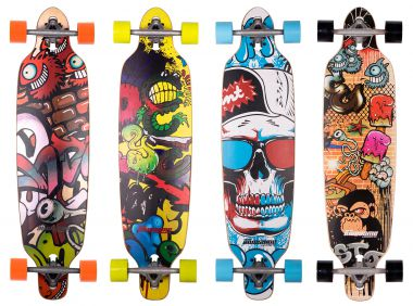DOUBLE AWESOME GRAFFITI Longboard 2016