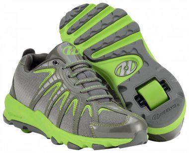 HEELYS SONAR Schuh 2014 neon green/grey/silver - 38