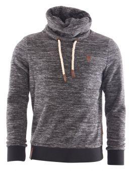 NAKETANO SCHWANZ IST TRUMPF III Sweater 2018 anthracite melange, Gr. M