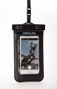 SEAWAG 5,7 WATERPROOF Smartphone Hülle mit Kopfhöreranschluss black