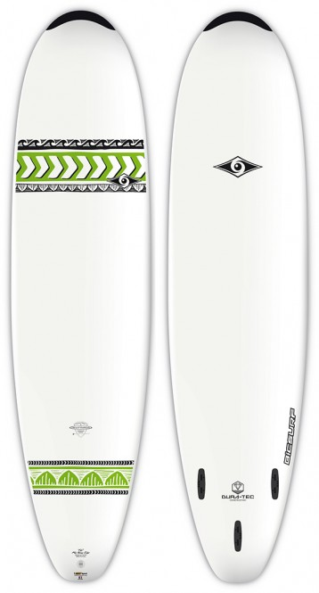 BIC MINI NOSE RIDER Surfboard 2019 - 7,6