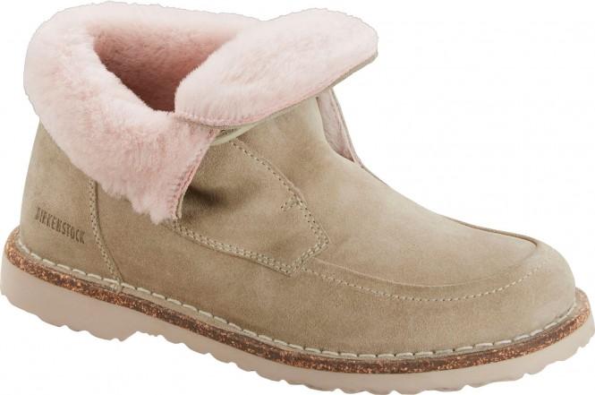 BIRKENSTOCK BAKKI Schuh 2021 taupe/shearling - 38