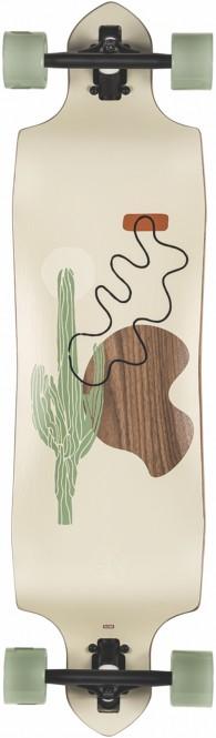 GLOBE GEMINON MICRO-DROP DT 37 Longboard 2021 walnut/cacti