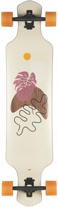 GLOBE GEMINON ROCK DT 40 Longboard 2021 walnut/monstera