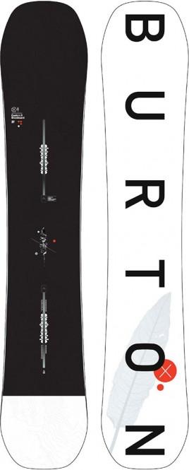 BURTON CUSTOM X Snowboard 2021 - 162