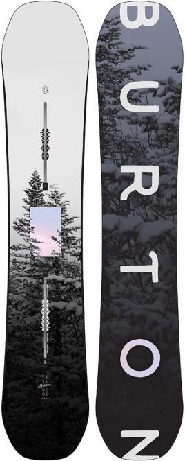 BURTON FEELGOOD FLYING V Snowboard 2021 - 149