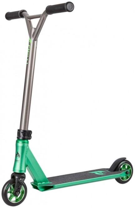 CHILLI PRO SCOOTER 3000 SHREDDER TEST Scooter green/black/grey