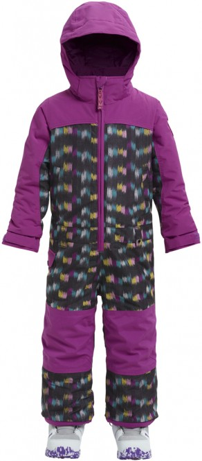 BURTON GIRLS MINISHRED ILLUSION Overall 2019 eye cat/grapeseed - 5/6