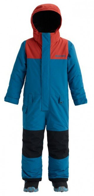 BURTON BOYS MINISHRED STRIKER Overall 2019 celestial/hot sauce - 2T